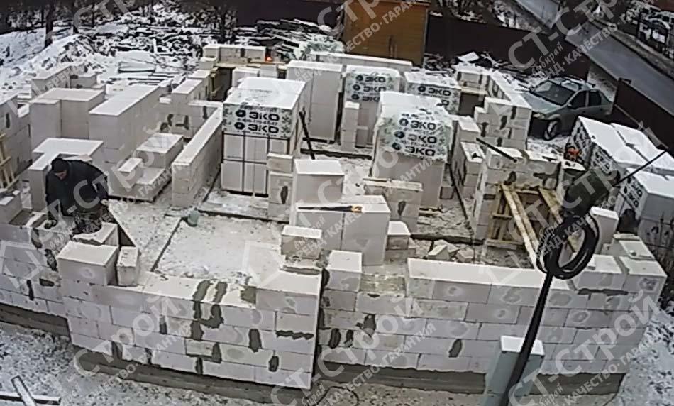 Строительство дома из газобетона (Лукьяново)