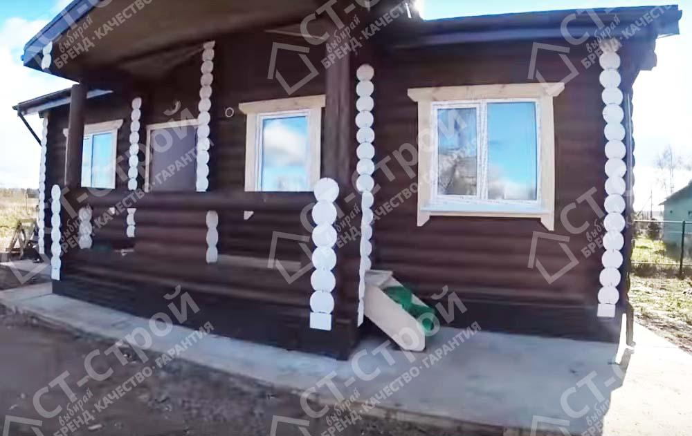 Отделка дома из бревна (Данилов)